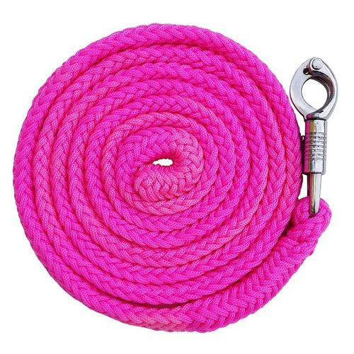 "Lead rope ""meadow"" with panic carabiner pink"